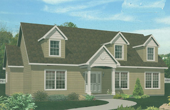 Click To View Pennwest Cape-Cod Modular Home Floor Plans Overview
