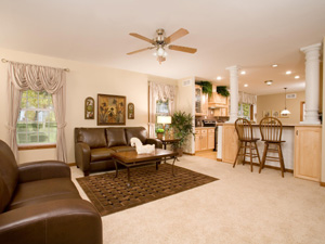 Click To Begin Davenport II Photo Tour - Model #: HF114-A - Great Room and Kitchen