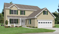 Jefferson II Modular Home Artist's Rendering