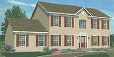 Lexington II Modular Home Artist's Rendering
