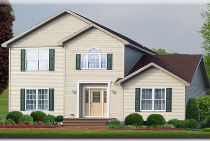 Muncy Two Story Modular Home Exterior - Click for Details